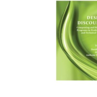 DESIGN DISCOURS COMPOSING AND REVISING PROGRAMS IN PROFESSIONAL AND TECHNICAL WRITING.pdf