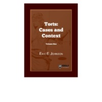 Torts Cases and Context Volume One.pdf