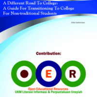 A Different Road To College A Guide For Transitioning To College For Non-traditional Students.pdf